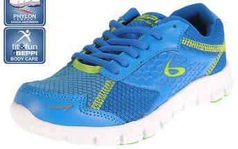 Dámské modré běžecké boty Beppi