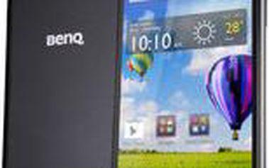 4G LTE smartphone BenQ F5 s úžasnou výbavou + Zdarma cyklo-turistická navigace SmartMaps v ceně 990 Kč