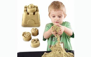 Zázračný tekutý písek absolutní megahit pro děti i pro dospělé! Písek je měkký, hebký a hrát si s ním bude celá rodina.