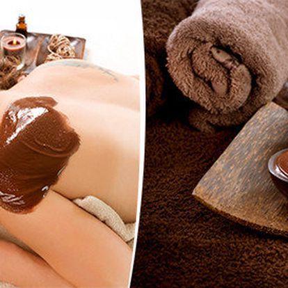 Luxusní čokoládová masáž a zábal - 60 minut
