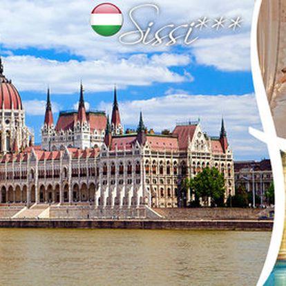 Až 4 dny v Budapešti se snídaněmi