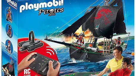 PLAYMOBIL 5238 Pirátská loď s motorem na RC ovládání