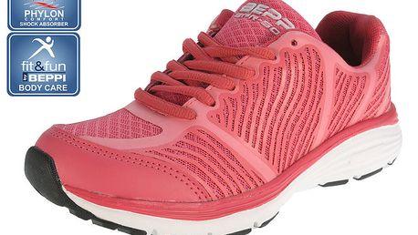 Dámské růžové běžecké boty Beppi