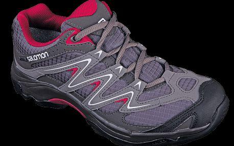 Všestranné a odolné dámské outdoorové boty Salomon Campside low GTX