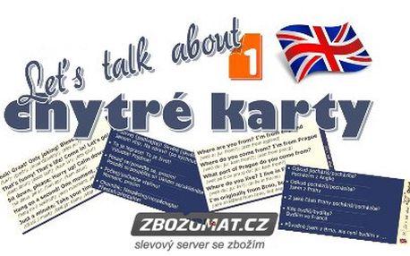 Chytré karty Angličtina Let´s talk about 1