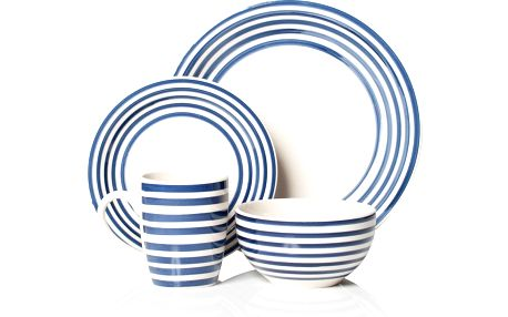 Set nádobí Portabello Blue, 16 ks
