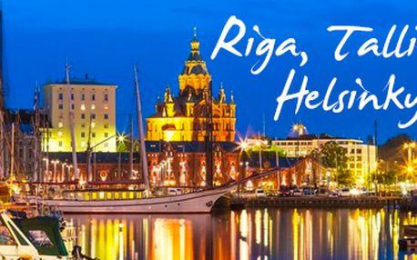 5denní expedice: krásy Pobaltí s návštěvou Helsinek! 3 termíny, s ubytováním.