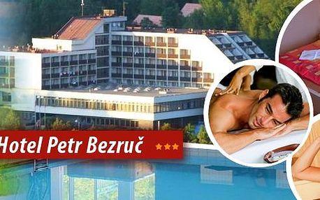 Horský hotel Petr Bezruč*** v Beskydech! Pobyt pro 1 osobu na 5 dní s bohatou polopenzí, bazénem se slanou vodou, infrasaunou, parní kabinou nebo solnou jeskyní! Čeká vás ale mnoho dalšího! Možnost i bonusové noci zdarma!