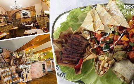 Mexické degustační plato pro 2 osoby v restauraci U Kroužků! Nachos, quesadilla, burrito, tacos a další klenoty mexické kuchyně na jednom degustačním platu. Udělejte si hezký večer a vyrazte za uměním našich šéfkuchařů!