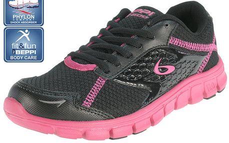 Dámské černé běžecké boty Beppi