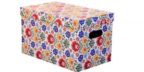 Úložná krabice - mějte své věci úhledně uložené!