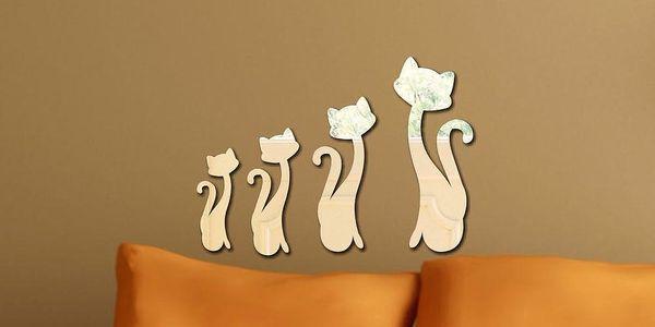 Dekorativní zrcadlo Cats
