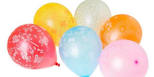 Barevné nafukovací balonky 100 ks - rozveselí každou párty!