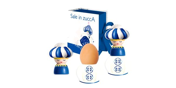 Kalíšek na vejce a slánka Russia