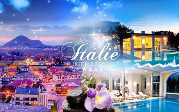 ITÁLIE! 6 DNÍ pro 2 osoby ve 4* hotelu s POLOPENZÍ a využitím WELLNESS, FITNESS a TERMÁLNÍCH LÁZNÍ!
