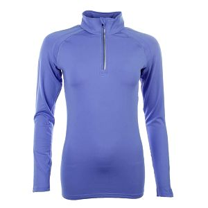 Dámské fialové triko s dlouhým rukávem Authority