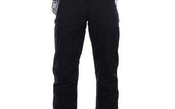 Pánské černé lyžařské kalhoty s kšandami Authority