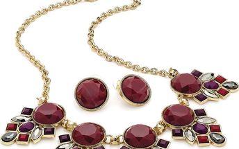 Set náhrdelník a náušnice Anna