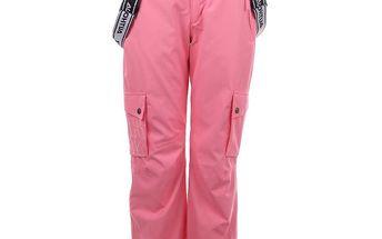 Dámské růžové snowboardové kalhoty Authority