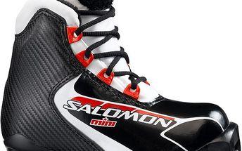 Dětské boty na běžky Salomon Salomon Mini Černá/Bílá