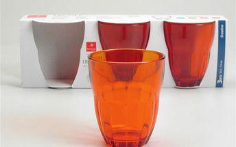 Set skleniček Ercole Orange, 3 ks