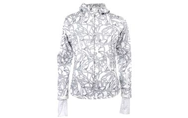 Dámská bílá softshellová bunda s potiskem Authority