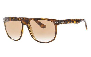 Pánské hnědé žíhané sluneční brýle Ray-Ban