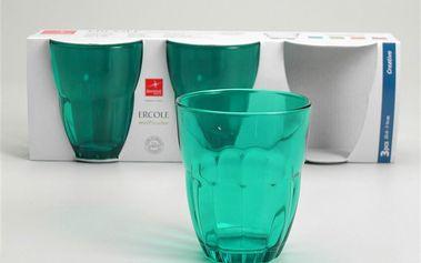 Set skleniček Ercole Blue, 3 ks