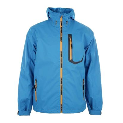 Pánská modrá treková bunda s kontrastními prvky Authority