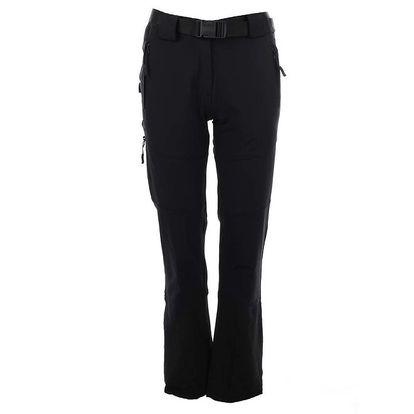 Dámské černé kalhoty s páskem Authority