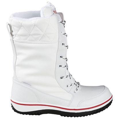 Dámské bílé zimní boty Authority