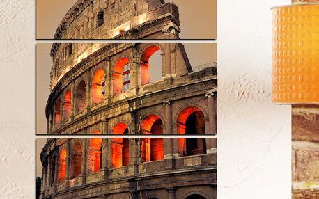 3dílný obraz Koloseum