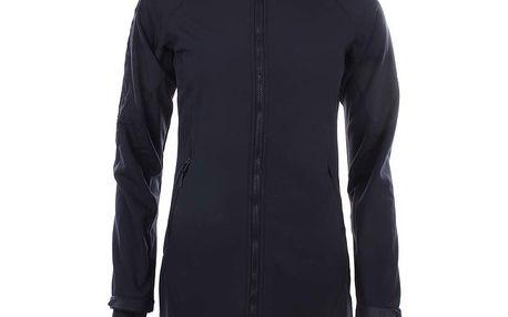 Dámská prodloužená softshellová bunda v tmavě modrém provedení Authority