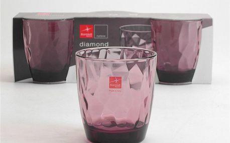Set skleniček Classy Pink, 3 ks