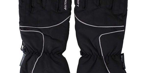 Dámské černé lyžařské rukavice Authority