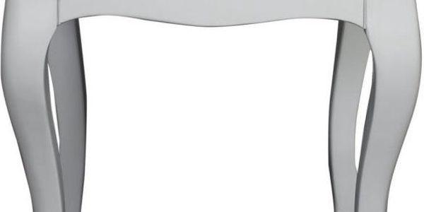Stolička Cervo White, 40x40x45 cm - doprava zdarma!