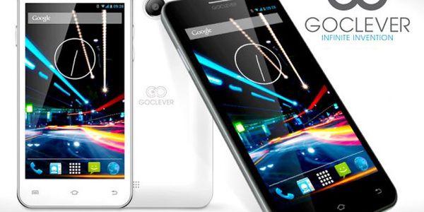 "5"" smartphone GoClever na 2 SIM"