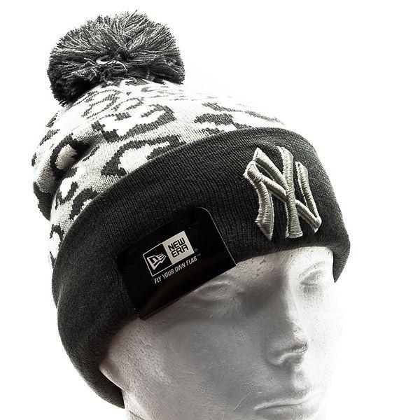 Kulich New Era Team Leopard New York Yankees Grey