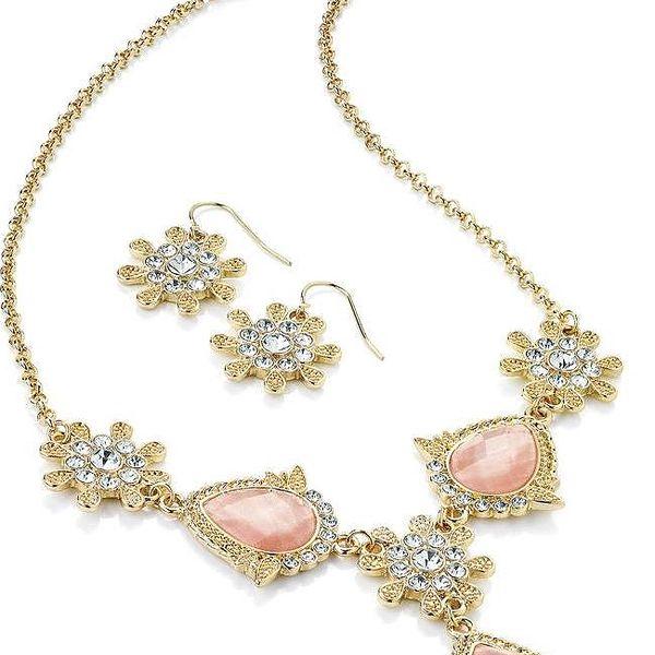 Set náhrdelník a náušnice Lisa
