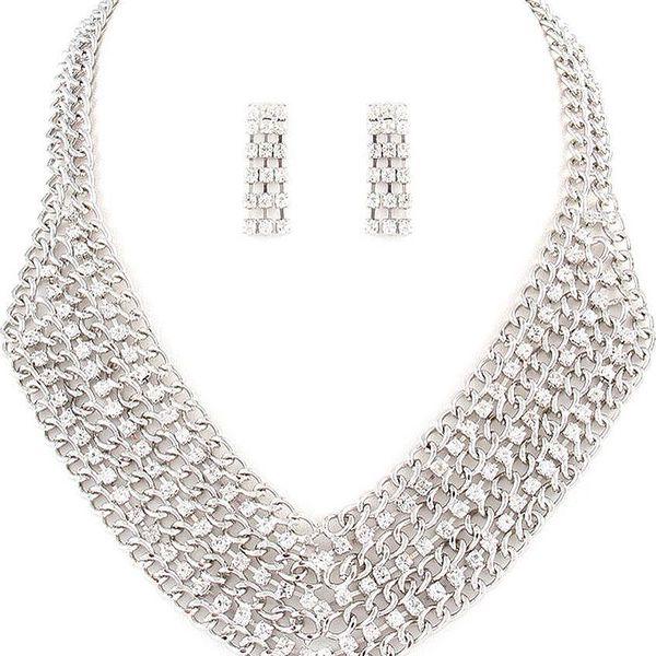 Set náhrdelník a náušnice Ellie