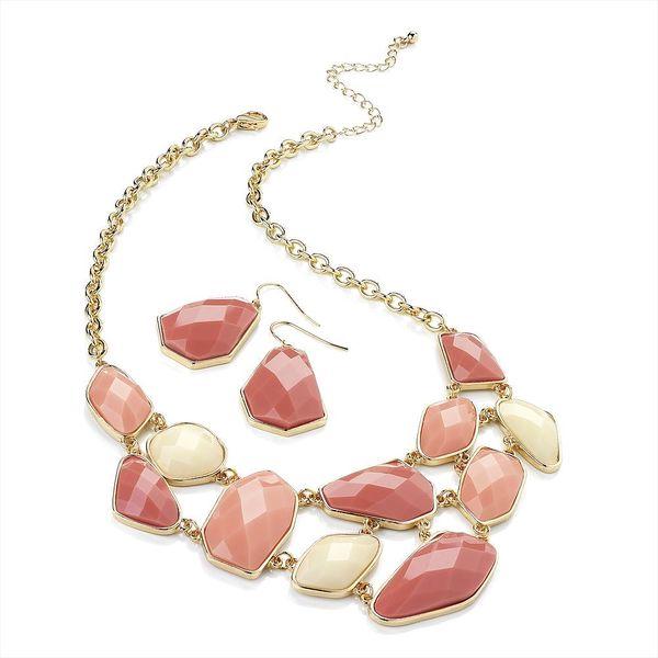 Set náhrdelník a náušnice Chantelle