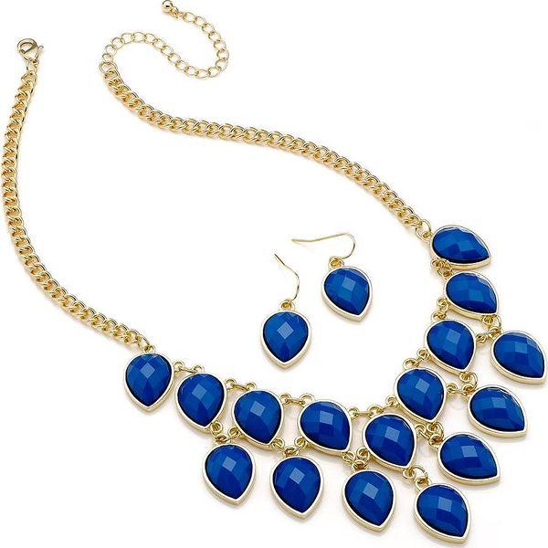 Set náhrdelník a náušnice Lauren Blue