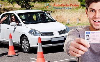 Řidičský průkaz typu B (rezervace) nebo kondiční jízdy