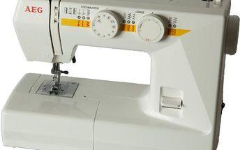 Šicí stroj AEG 1715 + záruka 10 let ZDARMA!