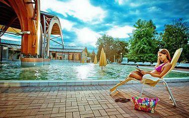 Maďarsko: 3denní zájezd s ubytováním do termálů Bükfürdo
