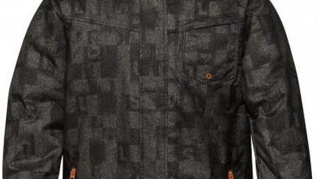 Pánská zimní bunda Quiksilver Mission Printed Insulated Jacket