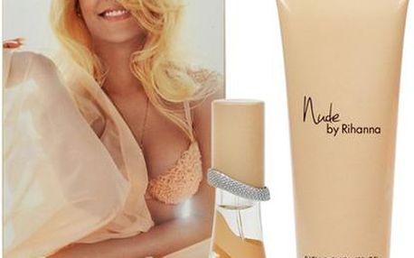 Rihanna Nude dárková sada - Edp 15ml + 90ml sprchový gel