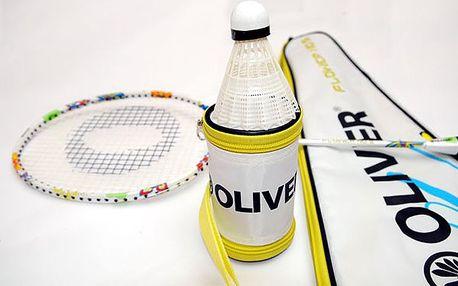 Badmintonový set Oliver včetně obalu s květinovým vzorem