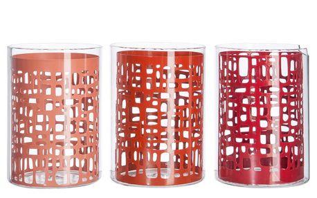 Set svícnů Coral Structure, 3 ks