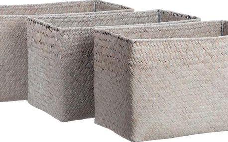 Set košíků Reed, 3 ks